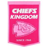 NFL Kansas City Chiefs Football for Her Banner