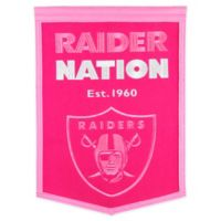 NFL Oakland Raiders Football for Her Banner