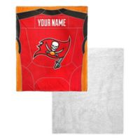 NFL Tampa Bay Buccaneers Personalized Silk Touch Sherpa Throw Blanket