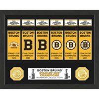 NHL Boston Bruins Deluxe Banner Photo Mint
