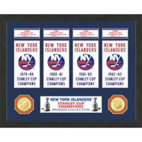 NHL New York Islanders Deluxe Banner Photo Mint