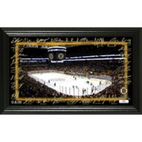NHL Boston Bruins Signature Rink Photo Mint