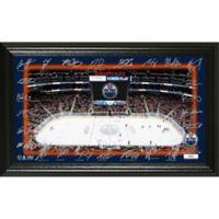 NHL Edmonton Oilers Signature Rink Photo Mint