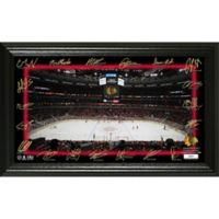 NHL Chicago Blackhawks Signature Rink Photo Mint