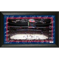 NHL Washington Capitals Signature Rink Photo Mint