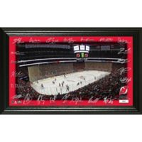 NHL New Jersey Devils Signature Rink Photo Mint
