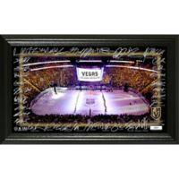 NHL Vegas Golden Knights Signature Rink Photo Mint