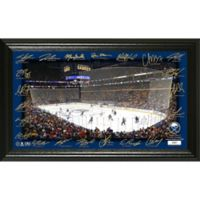 NHL Buffalo Sabres Signature Rink Photo Mint