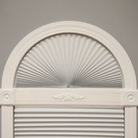 Redi Shade® Original Arch Light Blocking 36-Inch Length Shade in White