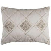 Rizzy Home Eva Standard Pillow Sham in Rust
