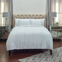 Rizzy Home Claire King Quilt in White