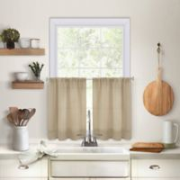 Maison 24-Inch Kitchen Window Curtain Tiers in Linen