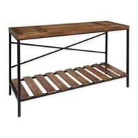 Kate and Laurel Garaghan Console Table in Black