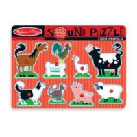 Melissa & Doug® Farm Animals Sound Puzzle