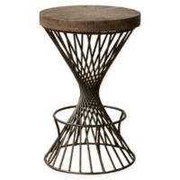 Hillsdale Furniture Kanister Counter Stool in Walnut