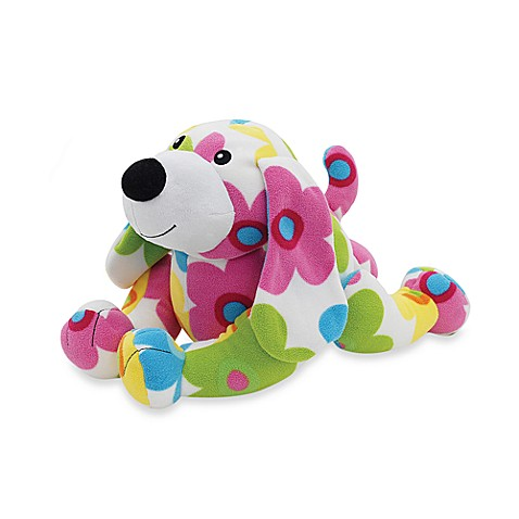 Melissa & Doug® Brightly Colored Flower Daisy Dog Plush