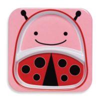 SKIP*HOP® Zoo Melamine Plate in Ladybug