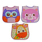 Neat Solutions® Character Face Bib Set in Girl