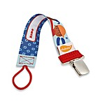 ulubulu™ Personalized Pacifier Clip in Tool Time