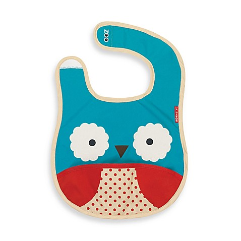 SKIP*HOP® Zoo Tuck-Away Bibs in Owl