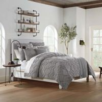 UGG® Evangeline Twin Duvet Cover in Seal Grey