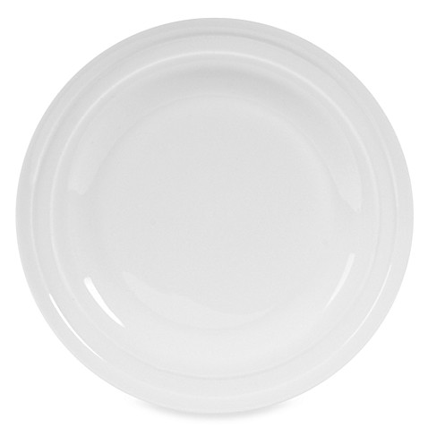 Nevaeh White® by Fitz and Floyd® Double Banded 10-Inch Dinner Plate