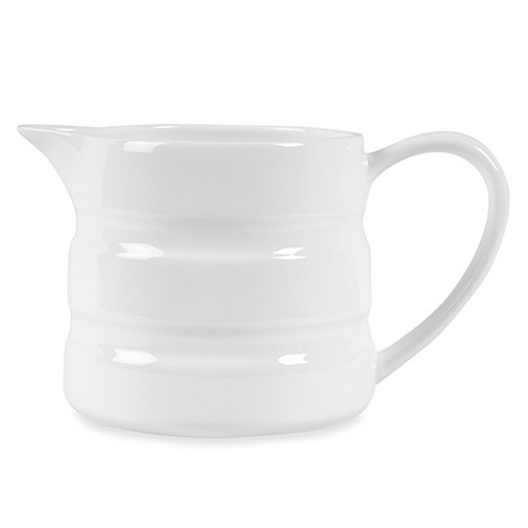 Nevaeh White® by Fitz and Floyd® Double Banded Mini Pitcher
