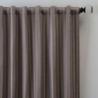 Rail Stripe 95-Inch Rod Pocket/Back Tab Window Curtain Panel in Haze