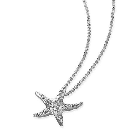 Arthur Court Sea and Lake Life Starfish Necklace