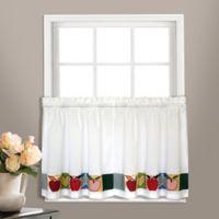 Appleton 24-Inch Kitchen Window Curtain Tier Pair