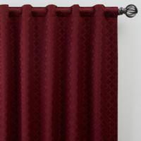 Regency 63-Inch Rod Pocket/Back Tab Window Curtain Panel in Merlot