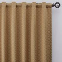 Regency 63-Inch Rod Pocket/Back Tab Window Curtain Panel in Gold