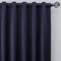 Regency 63-Inch Rod Pocket/Back Tab Window Curtain Panel in Navy