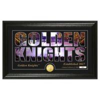 NHL Vegas Golden Knights Silhouette Photo Mint