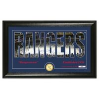 NHL New York Rangers Silhouette Photo Mint