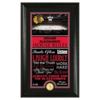 NHL Chicago Blackhawks House Rules Photo Mint