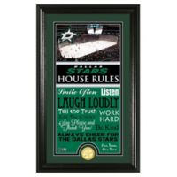 NHL Dallas Stars House Rules Photo Mint