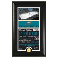 NHL San Jose Sharks House Rules Photo Mint