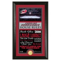 NHL Carolina Hurricanes House Rules Photo Mint