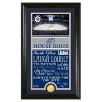 NHL Winnipeg Jets House Rules Photo Mint