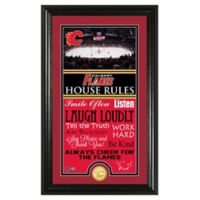NHL Calgary Flames House Rules Photo Mint