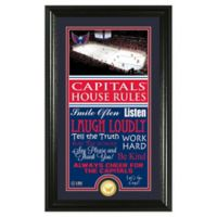 NHL Washington Capitals House Rules Photo Mint