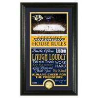NHL Nashville Predators House Rules Photo Mint