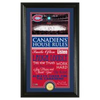 NHL Montreal Canadiens House Rules Photo Mint