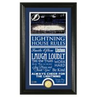 NHL Tampa Bay Lightning House Rules Photo Mint