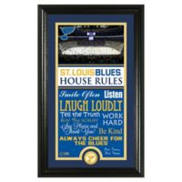 NHL St Louis Blues House Rules Photo Mint