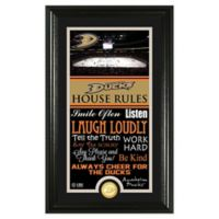 NHL Anaheim Ducks House Rules Photo Mint