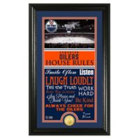 NHL Edmonton Oilers House Rules Photo Mint