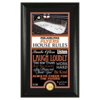 NHL Phladelphia Flyers House Rules Photo Mint