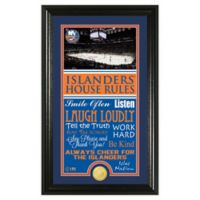NHL New York Islanders House Rules Photo Mint